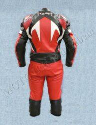 Motorcycle suit  B4046, white-red-black ( BEL ) Size XXL(880101)