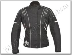 Jacket Lady Florenz, black-white ( ROLEFF ) Size 2XL
