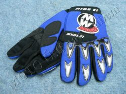 Gloves GL1 - blue ( Motowell ) Size S