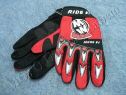 Gloves GL1 - red ( Motowell ) Size XS