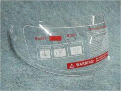 Helmet visor series FF2,FF3,FF4,FU2
