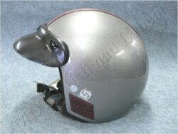 Helmet  - silver ( STUDDS ) Size M