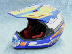 Children Helmet V310  cross - blue ( CAN ) Size M