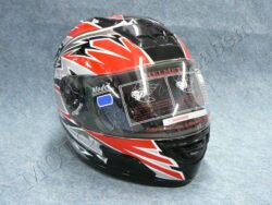 Full-face Helmet - black/red ( no name )