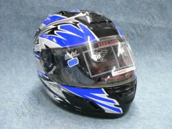 Helmet - black/blue ( no name ) Size M