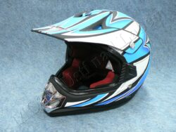Children Helmet V310 cross - flat black ( CAN ) Size M