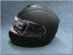 Helmet FF6G - Matt Black ( Motowel ) Size XL w/ Integral sun visor