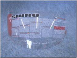 Helmet visor series SH-3700 ( SHIRO )