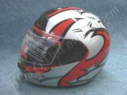motopřilba FF1 - littlestar red ( Motowell )