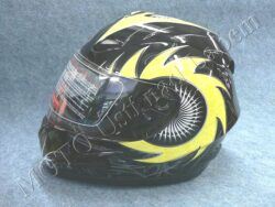 Full-face Helmet FF4 - solar black ( Motowell )