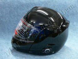 Helmet FU3B - black, bluetooth ( Motowell ) Size M