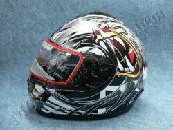 Full-face Helmet FF2 - crazy bear ( Motowell )