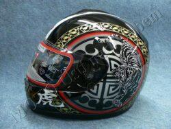 Full-face Helmet FF3 - siberian tiger ( Motowell )