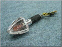 Turn signal light, triangular [clear glass]
