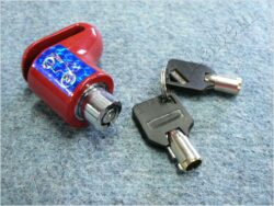 Brake disc lock - red ( UNI )