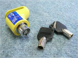 Brake disc lock - yellow ( UNI )