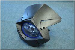 Headlight cowl w/ headlight ( UNI )  carbon / halogen