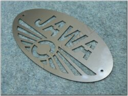 Logo JAWA - oval 185x95 mm, pattern