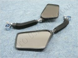 Rear view mirror assy. R.+L. square M8x1,25, RH  ( UNI )