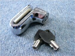 Brake disc lock OTSOD - chrome ( UNI )