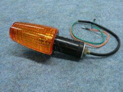 Turn signal light, square [orange glass]