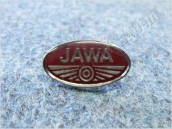 Pin badge JAWA red