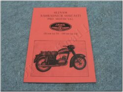 katalog ND - mezityp ( Jawa 125/351,150/352 )