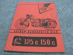 katalog ND ( ČZ 125,150 C )