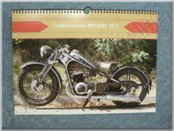 kalendář 2015 - Československé motorky ( 420x315 )