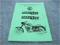 katalog ND ( ČZ 125/476,175/477 SPORT )