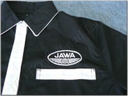 Shirt black-white logo Jawa - Size. XL(930631)