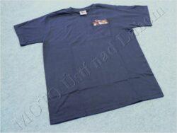 T-shirt blue w/ picture Jawa Panelka, Size L