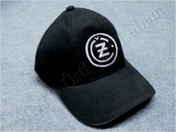 čepice s kšiltem - logo ČZ - černá