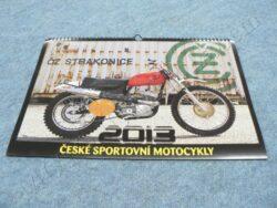 kalendář 2013 - ČZ sportovní  motocykly ( 300x420 )