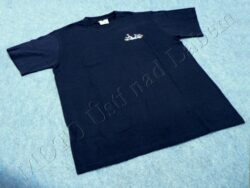 T-shirt blue w/ picture Stadion S11, Size L