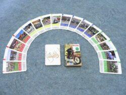 kvarteto motoveteráni ( hrací karty )