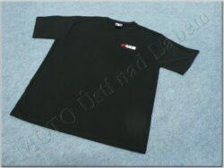 T-shirt black w/ logo MZ, Size L
