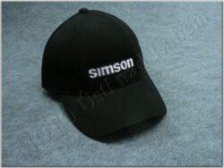 čepice s kšiltem - logo SIMSON - černá
