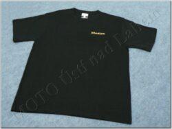 T-shirt black w/ logo STADION, Size M