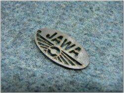 Pendant JAWA oval, design pattern - 32x16 mm
