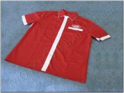 Shirt red-white logo Jawa