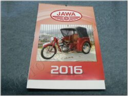 kalendář 2016 - Jawa ( 420x645 )