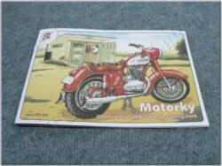 Colouring book Motorcycles ( Jawa, ČZ )