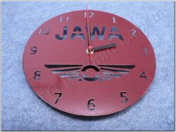 hodiny nástěnné ( Jawa ) vzhled šablona, barvené