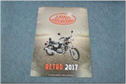 kalendář 2017 - JAWA, RETRO ( 420x600 )