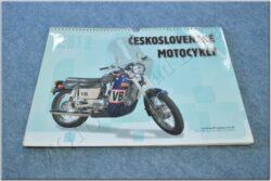 kalendář 2012 - československé motocykly ( 420x315 )