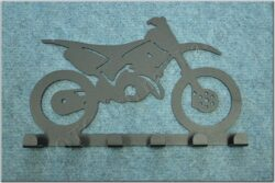 6-peg rack - Motorcycle Theme / cross