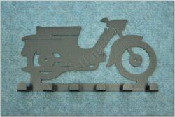 6-peg rack - Motorcycle Theme /  Jawa Pionýr 20,21