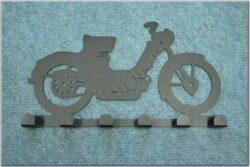 6-peg rack - Motorcycle Theme /  Jawa Pionýr 550