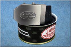belt JAWA / textile black- size 150cm